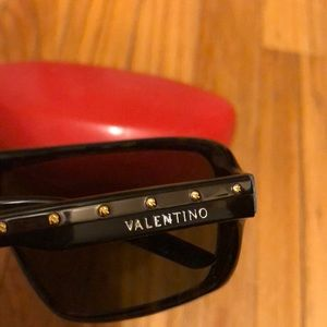 Valentino Accessories - AUTHENTIC Valentino shield sunglasses